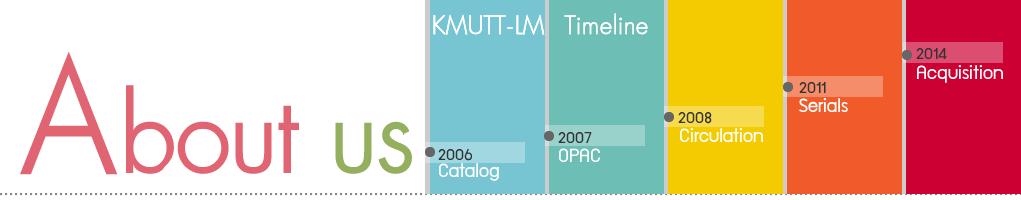 KMUTT-LM Timeline